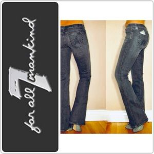 "Seven for all Mankind ""A"" pocket Bootcut"